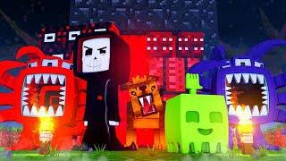 MONSTER INVASION! Minecraft FNAF Roleplay