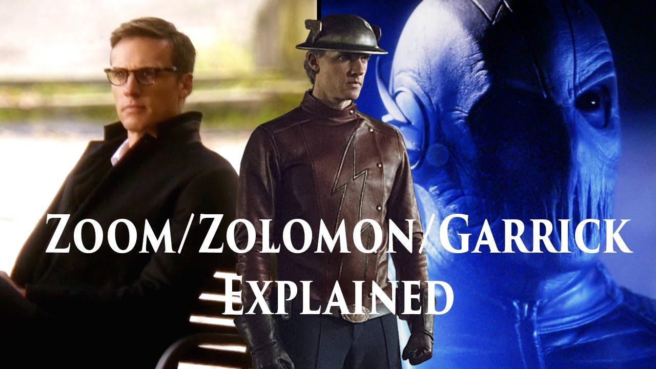 Zoom/Jay Garrick/Hunter Zolomon Origins Explained - Flash ...