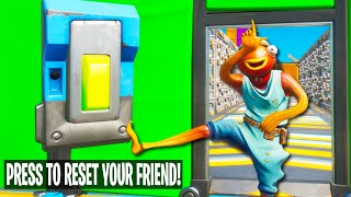 This YOUTUBER Deathrun Was Made To Troll Your Friends.. *LOL* (Fortnite Creative Mode)