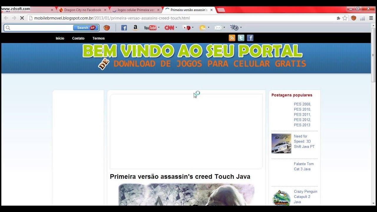 descargar youtube para celular java