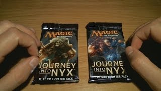 "ASMR Ear-to-Ear Whisper: MTG ""Journey Into Nyx"" Fat Pack"