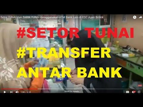 Setor TUNAI dan TARIK TUNAI menggunakan ATM Bank Lain di EDC Agen Brilink