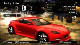 Need for Speed Most Wanted 2005 - Mazda RX8 Mod