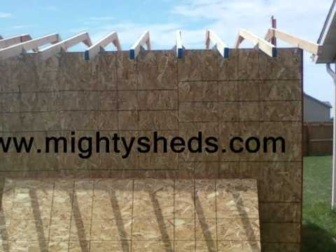 Storage Sheds Jacksonville Illinois, Sheds Springfield Illinois, Sheds Central IL MightySheds.com
