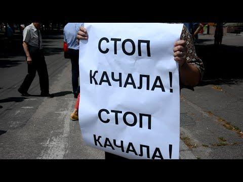 Громадське телебачення: Черкаси: Колектив ЧДТУ двічі перекривав дорогу - протестував проти повернення ректора