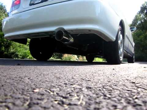 Honda Civic Dc Sports Exhaust Youtube