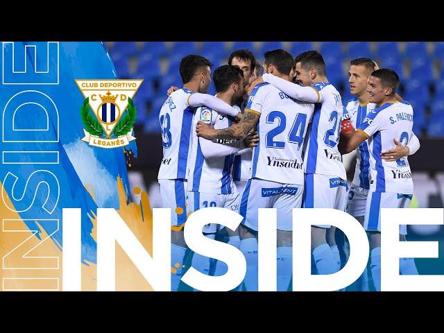 📹 INSIDE | El C.D. Leganés consiguió los tres puntos en el derbi ante el Rayo Vallecano.