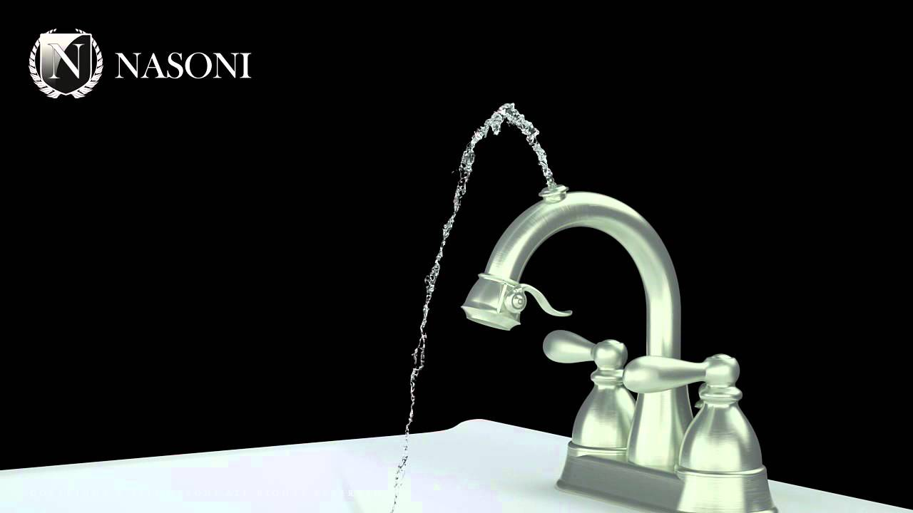 NASONI Fontanina Fountain Faucet - YouTube
