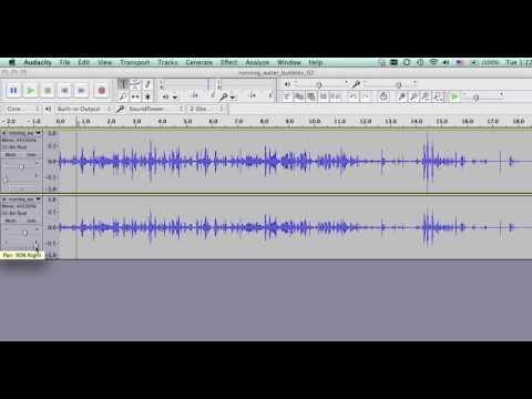 Balance Stereo Tracks Using Audacity