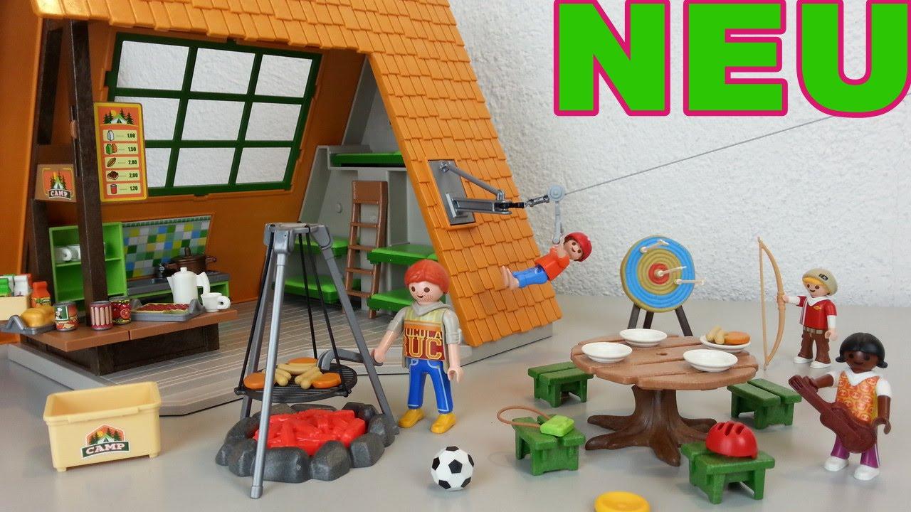 Playmobil gro es feriencamp 6887 auspacken seratus1 - Toutes les maisons playmobil ...