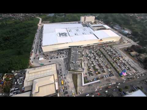 SM Lanang's grand opening aerial shot
