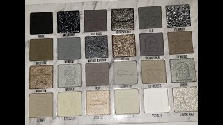 Jeffree Star Cremated Palette Swatches!