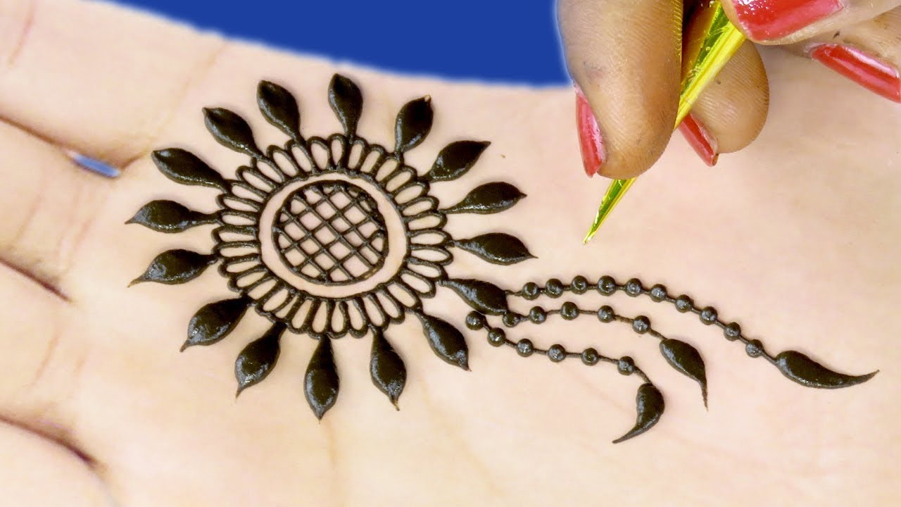 Mehndi Designs For Hands Tikki : Mehndi designs for hands gol tikki design d