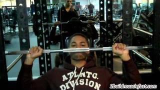 Shoulder Weightlifting Routine 4 Day Split Routine