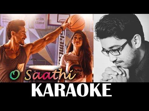 Baaghi 2 : O Saathi Karaoke | Instrumental | KRS