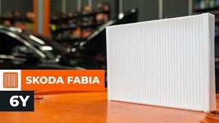 Jak si svépomocí opravit auto - Skoda Fabia 6y Sedan pokyny k opravě