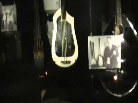 The history of Guitars (experience music project, Seattle)