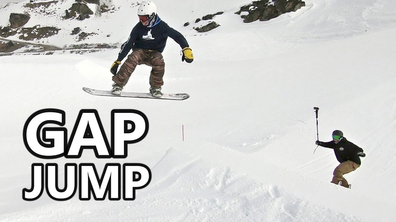2fe1cc22ac5 How To Land A Gap Jump Snowboarding - YouTube