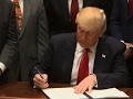 Trump signs executive order to expand drilling