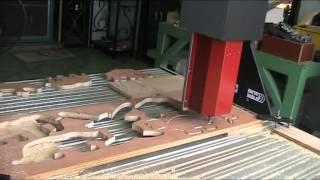 CNC ตัดไม้อัด