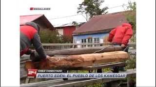 Chile Conectado - Puerto Edén: El pueblo de los Kawésqar