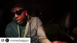 Moneybagg Yo listening to his new mixtape #indicted (Car Performance)