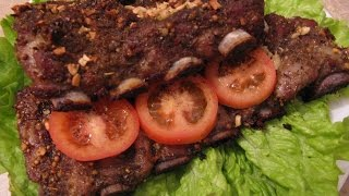 Свиные ребрышки в духовке /Pork ribs in the oven
