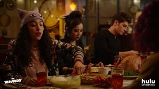 Thanksgiving with Marvel's Runaways