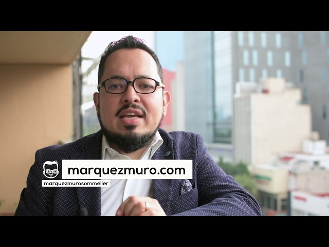 Presentación Márquez Muro Sommelier
