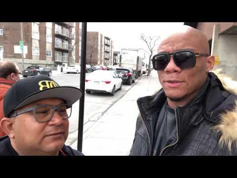 Óscar Rivas vs Sergio Ramírez, en Montreal, Canadá - Entrevista / Interview