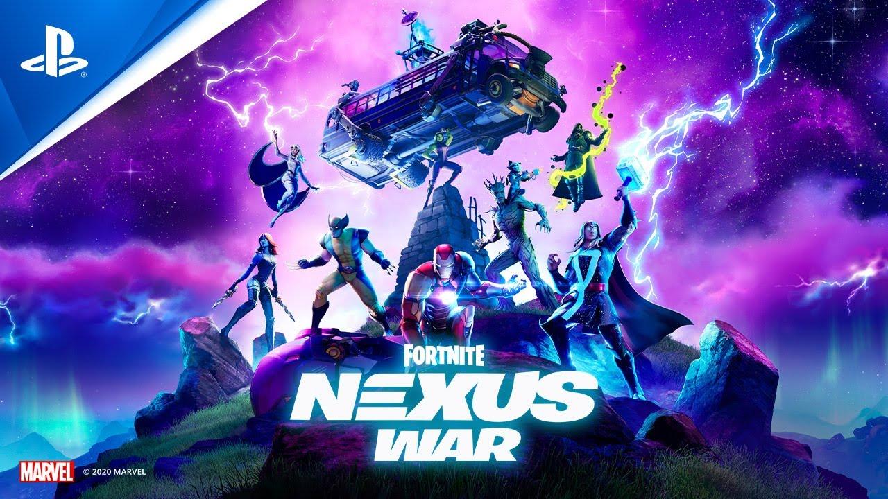 Fortnite - Capitolo 2: Stagione 4 - Nexus War - Trailer di lancio