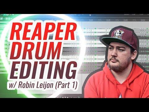 How To Edit Metal Drums In Reaper DAW (Part 1 Of 2)