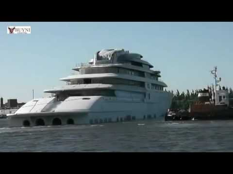 The Largest Yacht In The World   Yacht Azzam