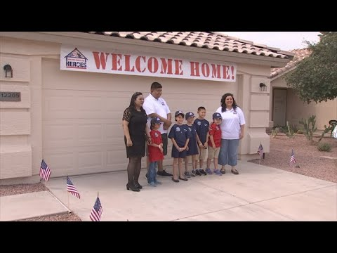 VIDEO: Marine and family receive a mortgage-free home