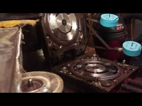 Vinyl record pressing at Palomino records