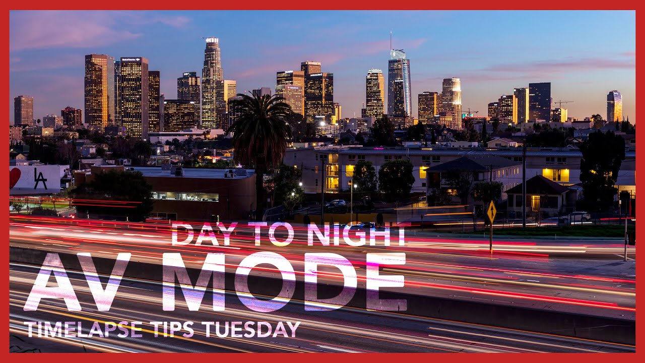 Don't Do This When Shooting a Day to Night with AV Mode - Timelapse Tips Tuesday #2