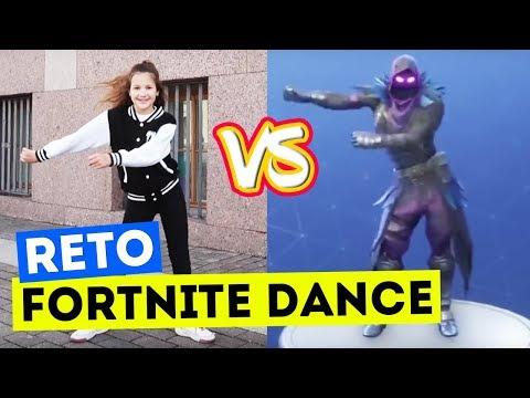 RETO FORTNITE DANCE EN PUBLICO | LO MEJOR DE BAILES FORTNITE EN VIDA REAL | Daniela Golubeva