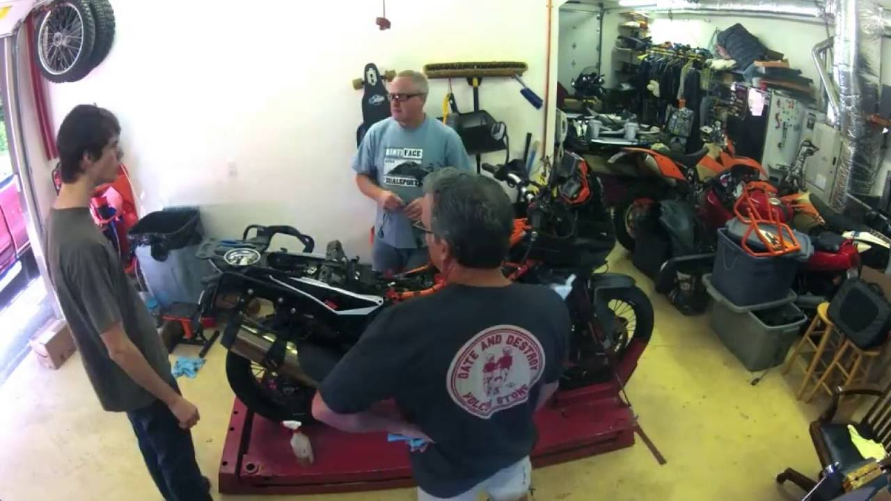 2014 Ktm 1190 Adventure R Gps Install And Snorkel Removal Youtube Wiring Diagram