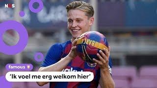 Frenkie de Jong vertelt over zijn nieuwe club FC Barcelona