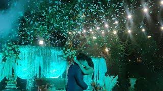 Funk Circuit™ White Confetti for a Wedding Reception at 2 Gardens Tagaytay (Dec 9, 2020)