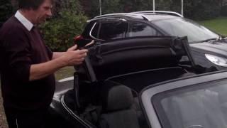 How to fold down hood on MG TF