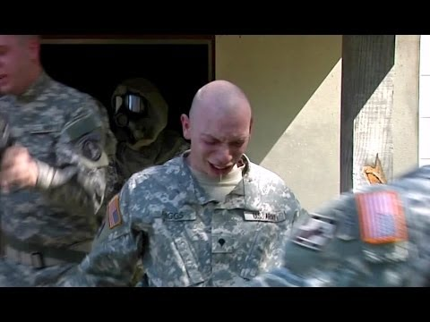 US Army Nuclear Biological Chemical Chamber Training