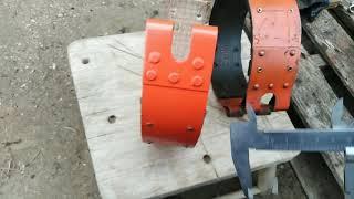 Ремонт трактора Т-25 ( ставлю тормозные ленты ) 2 часть.