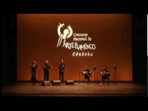 """""""EL DUENDE"""" Emilio Ramirez por alegrias Concurso nacional Flamenco de Cordoba 2013"""