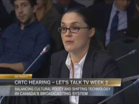 CRTC Hearing  Lets Talk TV Week 2 Netflix