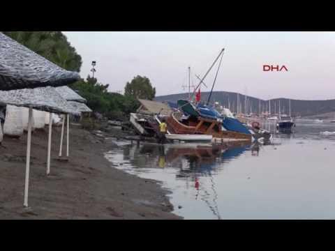 Haber   Bodrum ve Yunan Adaları'nda gece yarısı 6.3 büyüklüğünde deprem