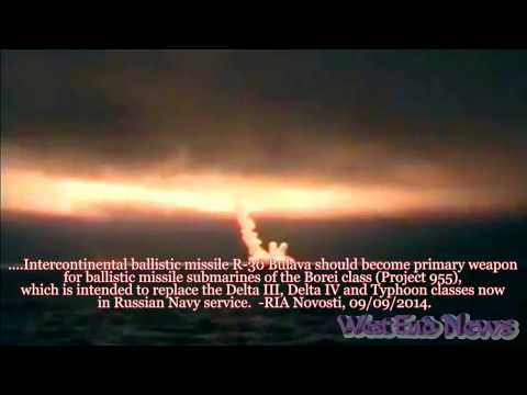 Russia SUCCESSFULLY FIRES Bulava SLBM | Military & Intelligence | Defense