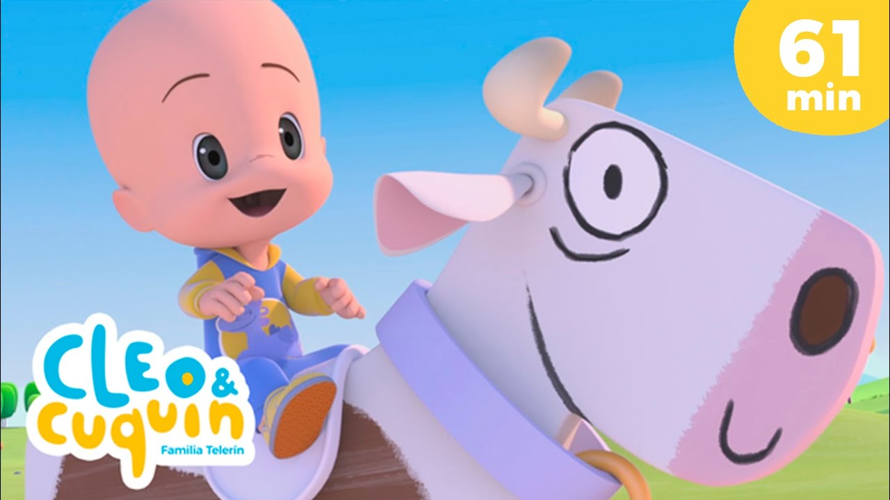 Lola the Cow 🐄🐮 and more Nursery Rhymes by Cleo and Cuquin | Children Songs