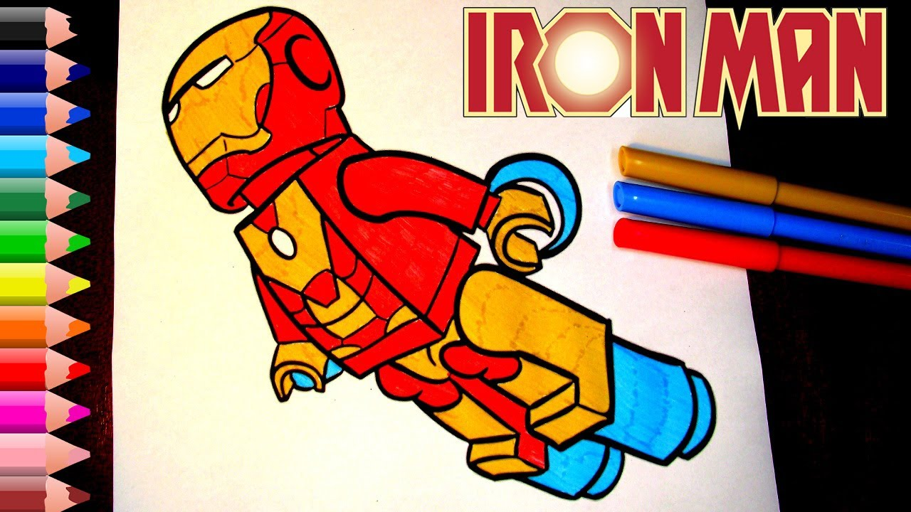 ironman coloring pages for kids ironman coloring book pages fun