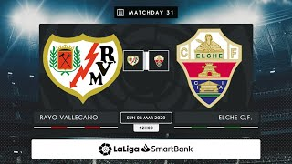 Rayo Vallecano Elche C F MD31 D1200